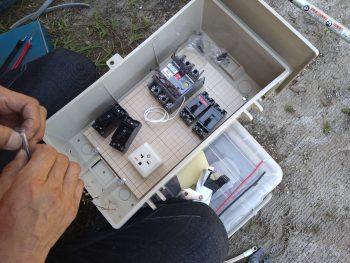 配電盤設置工事